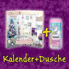 Essence Adventskalender 2017 neu plus gratis Balea Einhornduschgel dm Rarität **