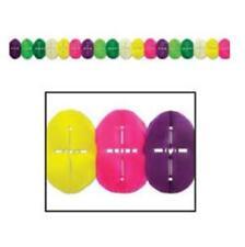Pancartas y guirnaldas de fiesta color principal multicolor de papel