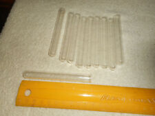 Vintage Glass Test Tubes Cigar Tubes 10 Pcs 3 78 Long X 38 Opening 34oz