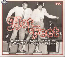 Various – Hot Feet (USA Jazz age to Post-War R&B Dance) 3CD SET NEW/SEALED