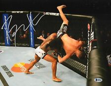 Benson Henderson Signed 11x14 Photo BAS COA UFC on Fox 5 Nate Diaz Picture Auto