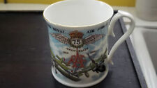1993 LIMITED EDITION AYNSLEY MUG FOR   75th ANNIVERSARY OF THE R A F
