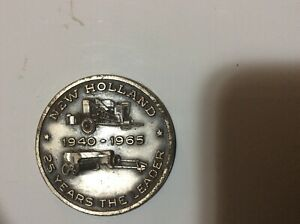 New Holland commerative coin