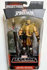 MARVEL LEGENDS KRAVEN SPIDER-MAN INFINITE SERIES SAVAGE FORCE W/ RHINO BAF MISB!