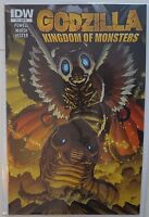 GODZILLA Kingdom of Monsters #4 (2011) IDW RI Retailer Incentive Variant Cover