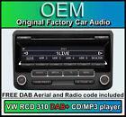 VW Interruptor 310 DAB+ Radio , GOLF PLUS Reproductor de CD, Digital con Estéreo