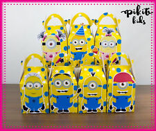 MINIONS PARTY FAVOUR BOXES TREAT KIDS BIRTHDAY LOLLY BAGS SUPPLIES DECORATIONS