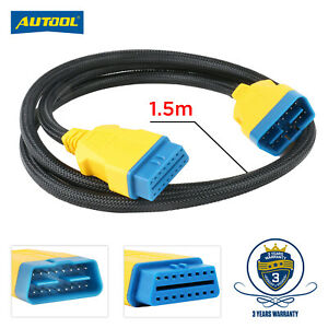 OBD II OBD2 Extension Cable 16Pin Male To Female Auto For Pro3/Launch/ELM327
