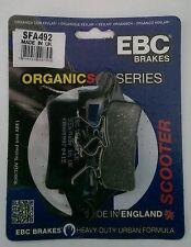 Yamaha BWs125 (YW125) (2010 to 2013) EBC Organic FRONT Disc Brake Pads (SFA492)