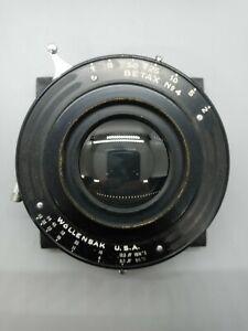 """Wollensak Betax No. 4 Shutter, 16 1/2"""" f12.5 Lens, 8x10 11x14 ULF"""