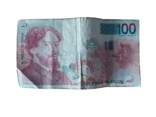 Billet de 100 Francs Belges James Ensor