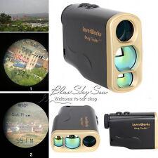 IMPERMEABILE 1000 M Laser Range Finder Misuratore di distanza la caccia all'aperto misura della velocità