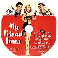 My Friend Irma - Diana Lynn Don DeFore Dean Martin Jerry Lewis Rare 1949