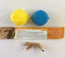 Brand New Yowie Cheetah Cat Series 4 Us Surprise Egg Mini Figure Yowies