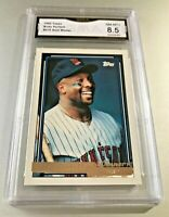 KIRBY PUCKETT (HOF) 1992 Topps GOLD WINNER #575 GMA Graded 8.5 NM-MT+