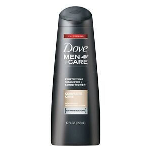 Dove Men + Care 2 in 1 Fortifying Shampoo + Conditioner Complete Care | 355 ML