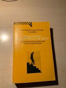 LA COSCIENZA DI ZENO Svevo 1993 UNIVERSALE ECONOMICA FELTRINELLI