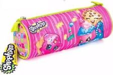 New Shopkins Barrel Pencil Case Party Gift School Home Stationery Kids