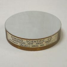 "EDMUND SCIENTIFIC 696099-50 CIRCULAR PRECISION OPTICAL FLAT MIRROR 3"" x .75"