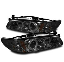 1997-2003 PONTIAC GRAND PRIX 2/4DR GT GTP SE SMOKE HALO PROJECTOR HEADLIGHTS NEW
