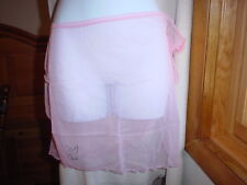 Playboy Sheer Swim Sarong One/Size Light Pink NWT