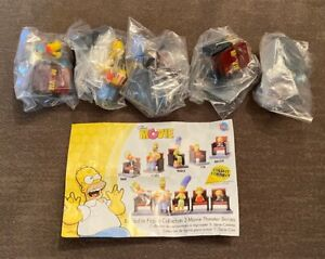 Simpsons Movie Theater Buildable Figure Collection 3 Mini Gashapon TOMY 2007 NEW