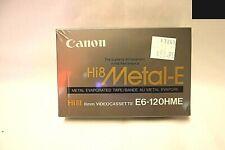 Canon Hi8 8mm Metal E Videocassette
