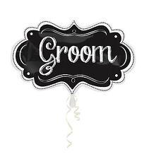 Amscan 3123901 11 x 34 pouces Marquise Groom Chapiteau Super forme Feuille -