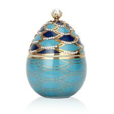 Pearl Scales Faberge Egg Candle by Daniella's Candles