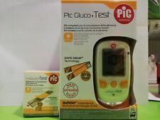 Pic Gluco Test Kit Completo per la Misurazione della Glicemia piu 35 reagenti