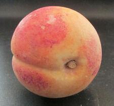 Vintage Italian Alabaster Stone Fruit - Peach (B)