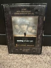 Saving Private Ryan Dvd 2004 - D-Day 60th Anniversary Commemorative Edition!