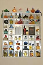 Miniatur Parfum Flakon 57 Stück mit Setzkasten