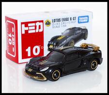 TOMICA #10 LOTUS EXIGE R-GT 1/59 TOMY 2014 February New Model Black Diecast Car