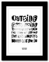 KATE BUSH - Breathing ❤ song lyrics typography poster art print - A1 A2 A3 or A4