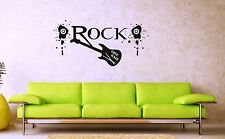 Wall Stickers Vinyl Decal Music Guitar Rock Drum Sticks ig1309