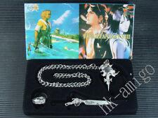 Final Fantasy VIII 8 FF8 Necklace Ring Box Set