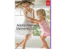 Adobe Premiere Elements 2018 - Windows & Mac