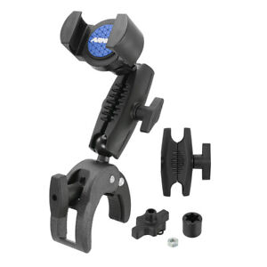 XLRMCPM: Arkon RoadVise XL Robust Clamp Phone or Tablet Mount with Security Knob