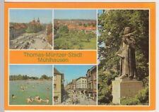 (102031) AK Mühlhausen (Thür.), Mehrbildkarte 1988