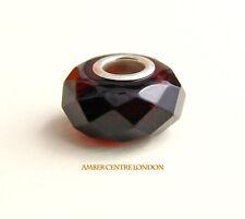 Genuine Amber Prism Charm– fits all European charms braceletsCHA79 RRP£40!!!