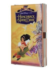Disney The Hunchback of Notre Dame Clutch VHS Case Purse NEW