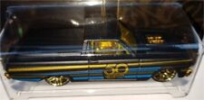Mattel Hot Wheels FRN33 50th Anniversary Black & Gold Themed
