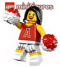 LEGO® Minifiguren  Serie 8 - 8833 - No 13 - Cheerleaderin in rot