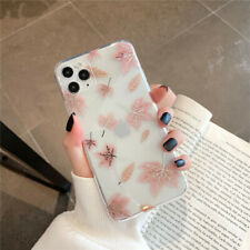 Luxury Shockproof Fashion Floral Pineapple Clear Silicone Gel Phone Case Cover