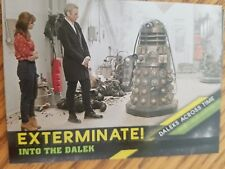 2016 Topps Doctor Who Timeless #9 Into The Dalek - Daleks Across Time