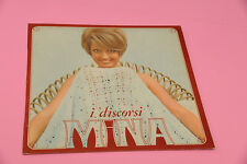 MINA LP I DISCORSI ORIGINALE '60 EX  EX SOLO COPERTINA ONLY COVER