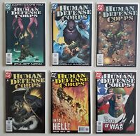 Human Defense Corps 2003 Templeton 1 2 3 4 5 6 DC Set Series Run Lot 1-6 VF/NM