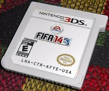 FIFA 14 Nintendo 3DS Rarest Game on the System Only One on eBay 2014 Soccer 2DS