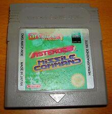 Gameboy Spiel Asteroids Missile Command Arcade Classic Modul Nintendo Game Boy